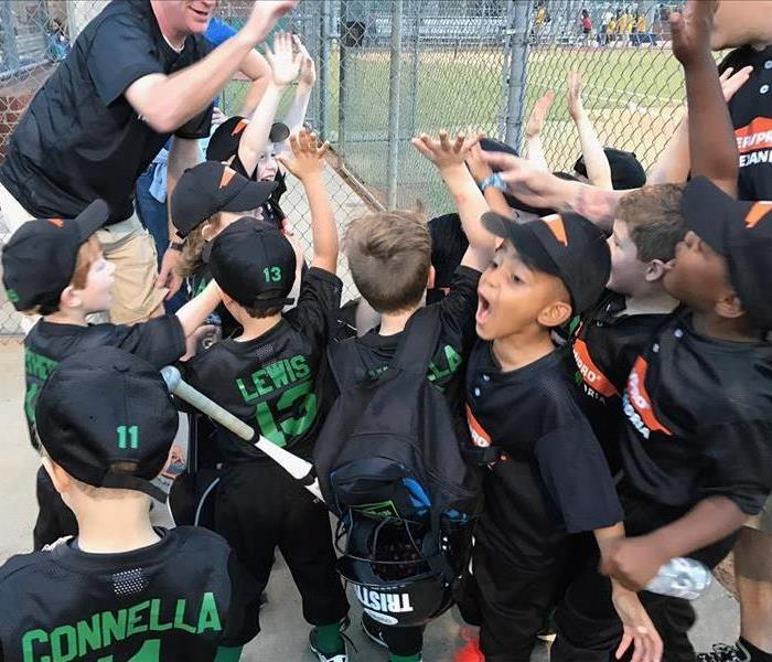 2017 SERVPRO of Alexandria T-ball team