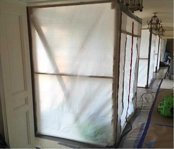 Mold Containment in Natchitoches Home