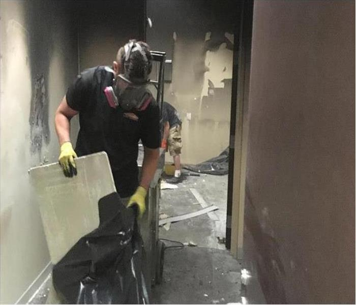 Fast Smoke & Fire Cleanup for an Alexandria Office Building