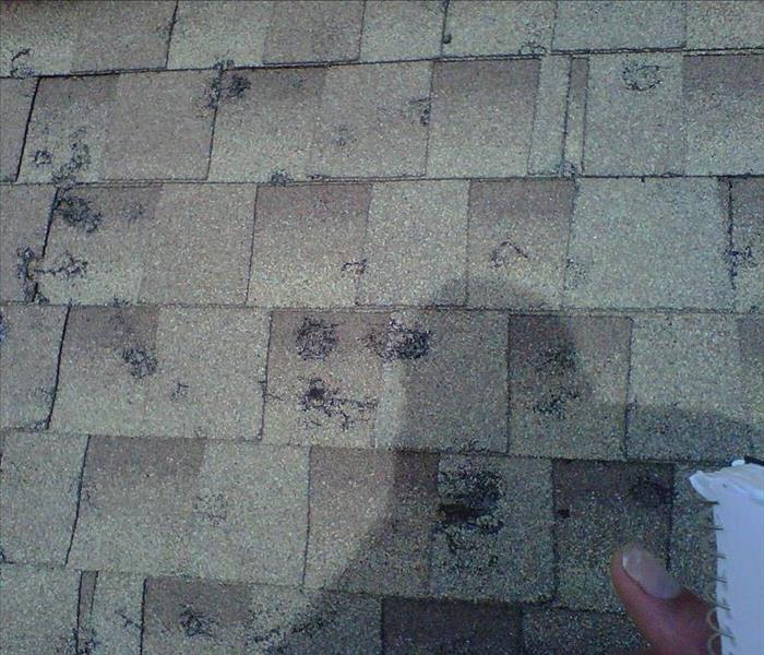 Commercial How To Identify Roof Hail Damage